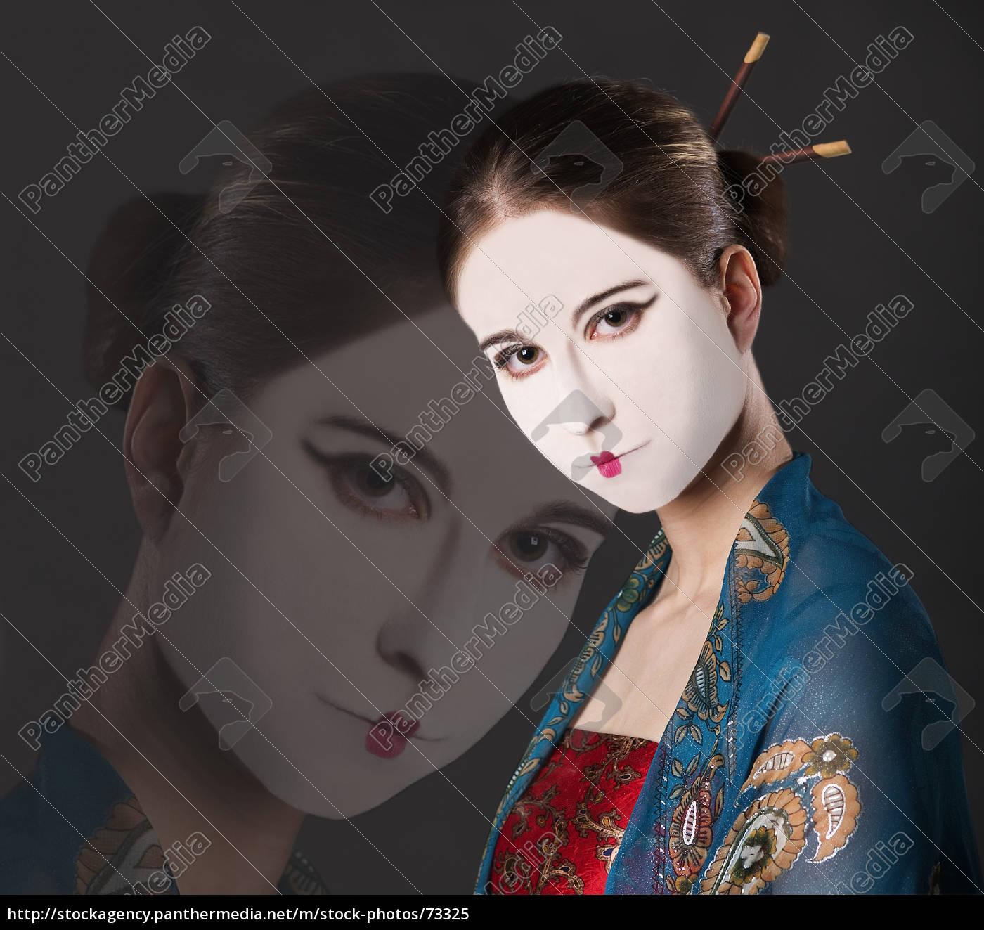 sad, geisha - 73325