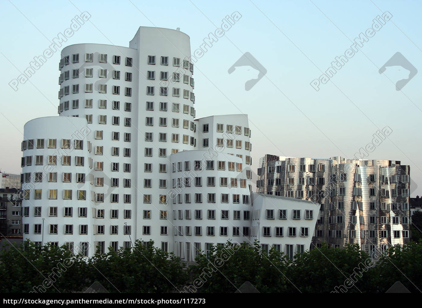 gehry, buildings, in, dusseldorf, medienhafen - 117273