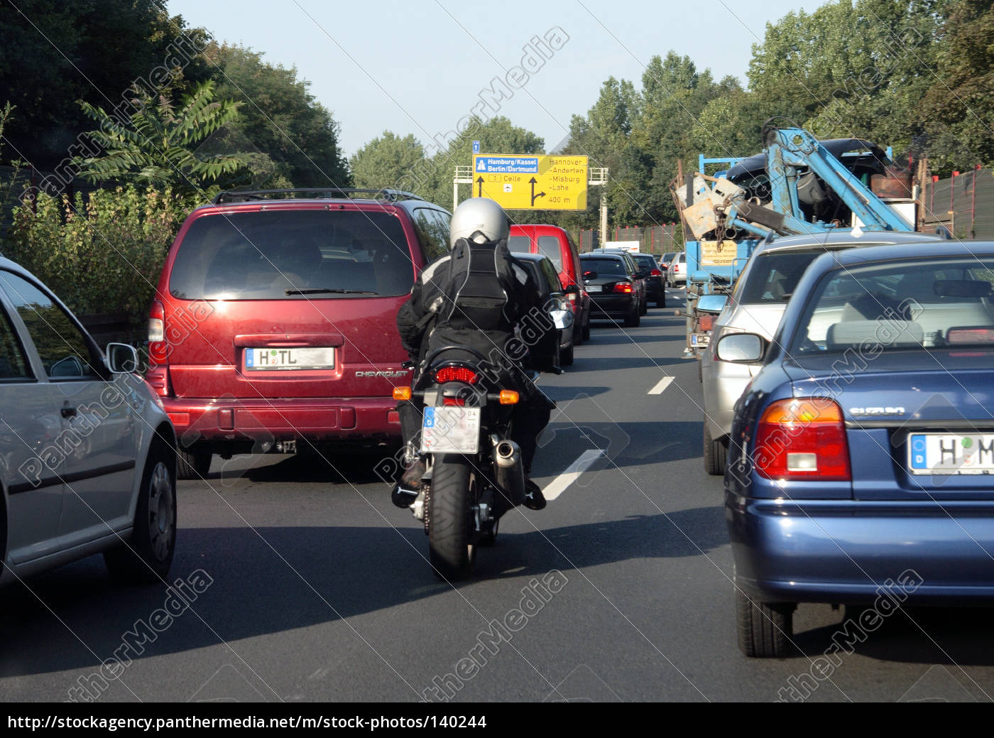 dangerous, situation, with, motorcycle - 140244
