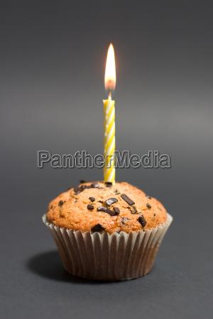 birthday, muffin, portrait - 228196