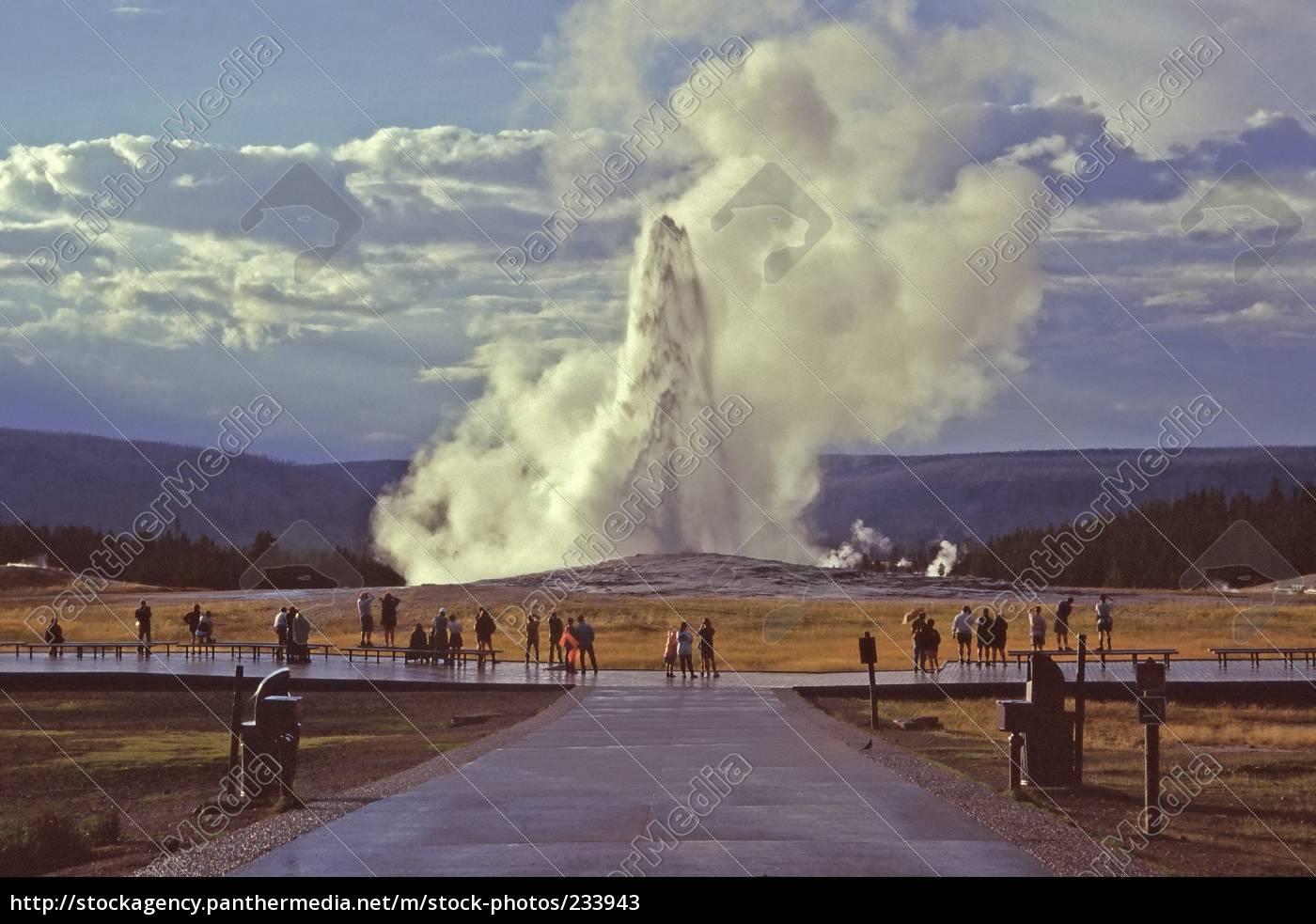 old, faithful, geyser - 233943
