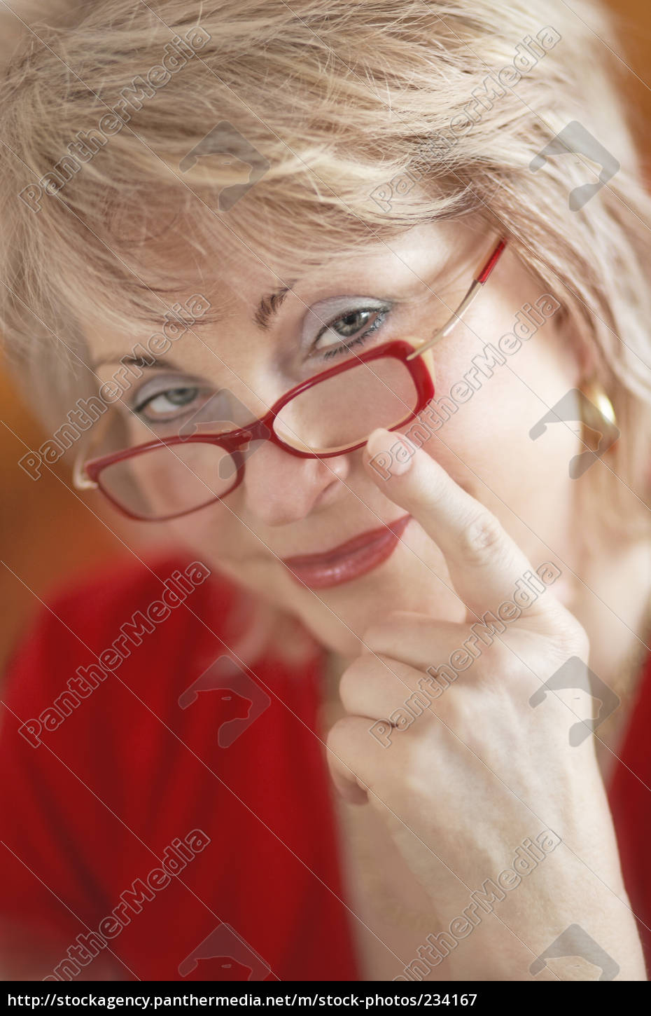 behind, red, glasses - 234167