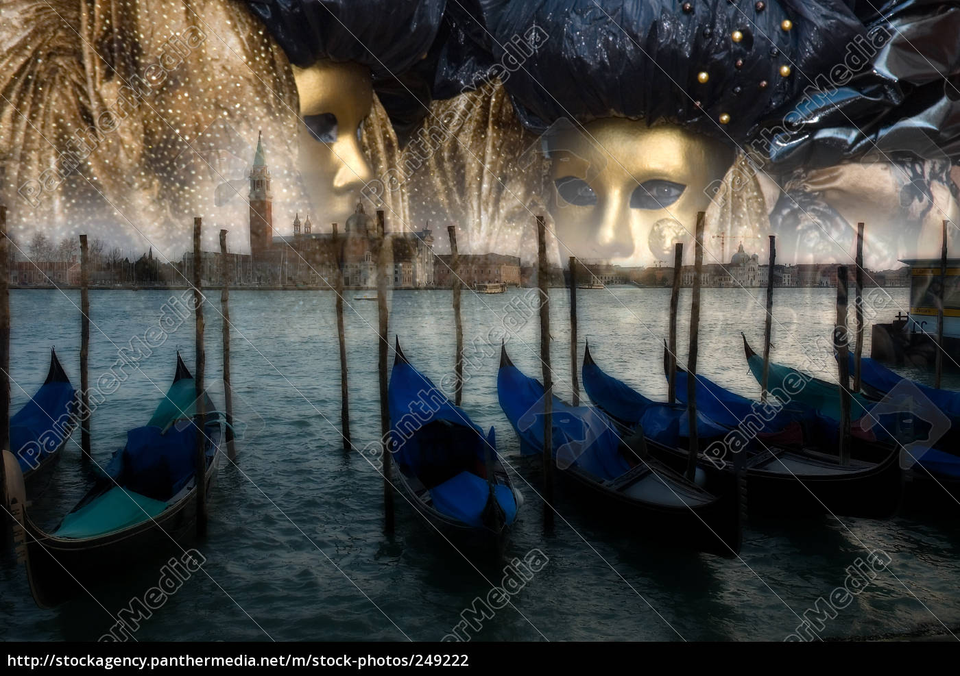 masks, in, venice - 249222