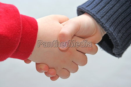 children, handshake - 254293
