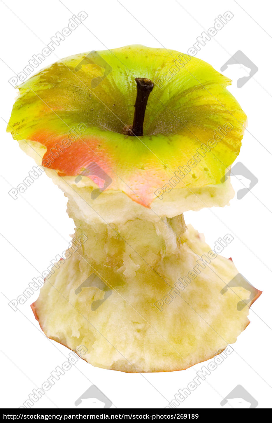 gnawed, apple, with, clipping, path - 269189