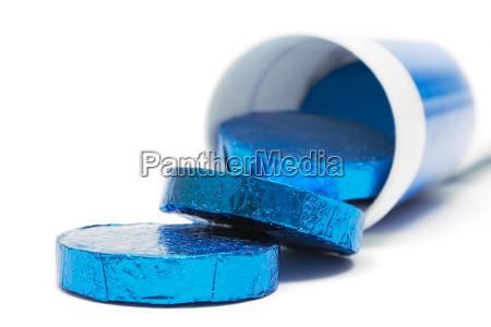 blue, effervescent, tablets - 271796