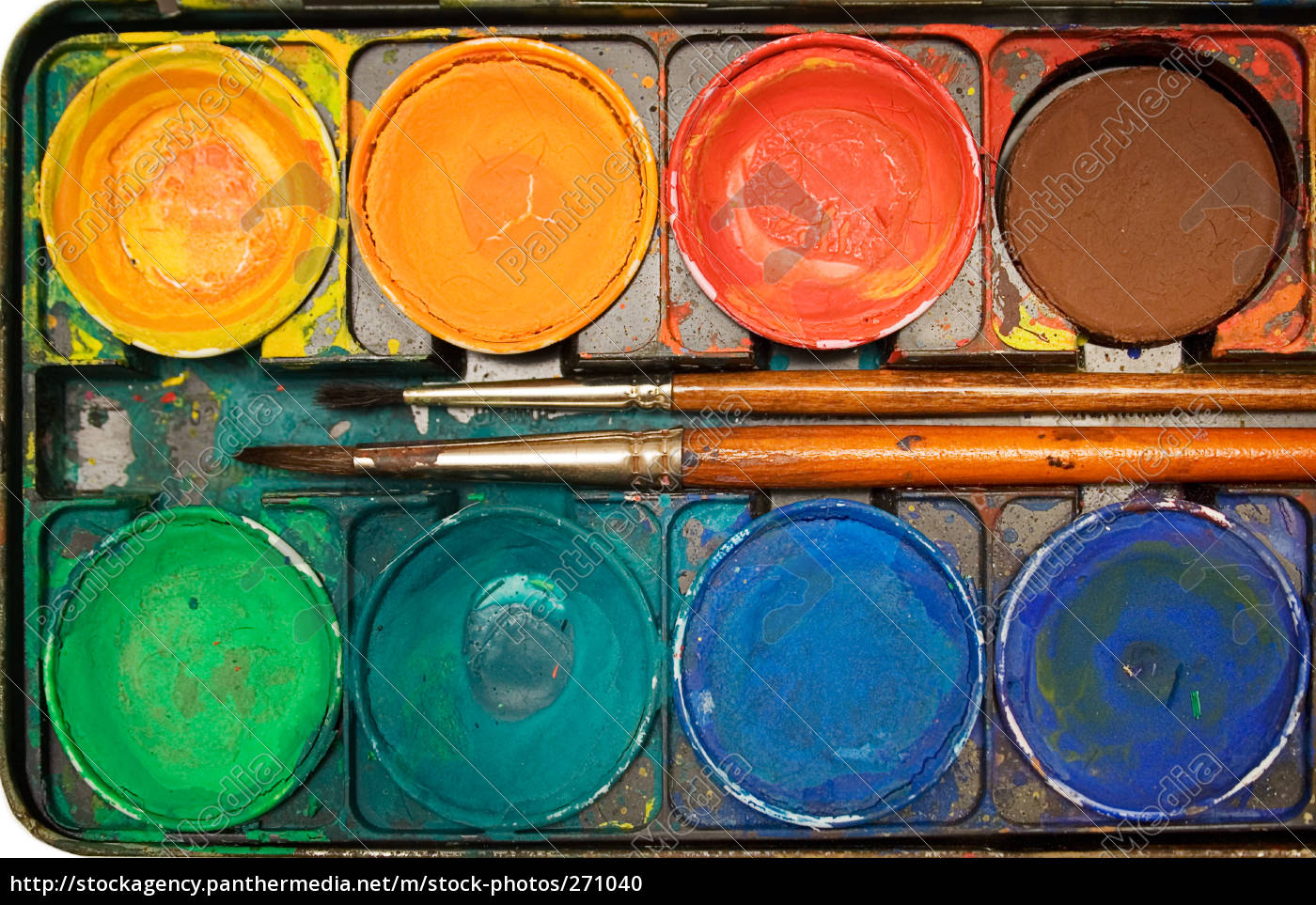 water, color, box, with, brush, iii - 271040