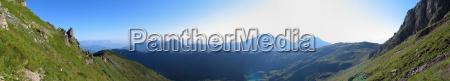 kitzbuehel alps panorama no 2