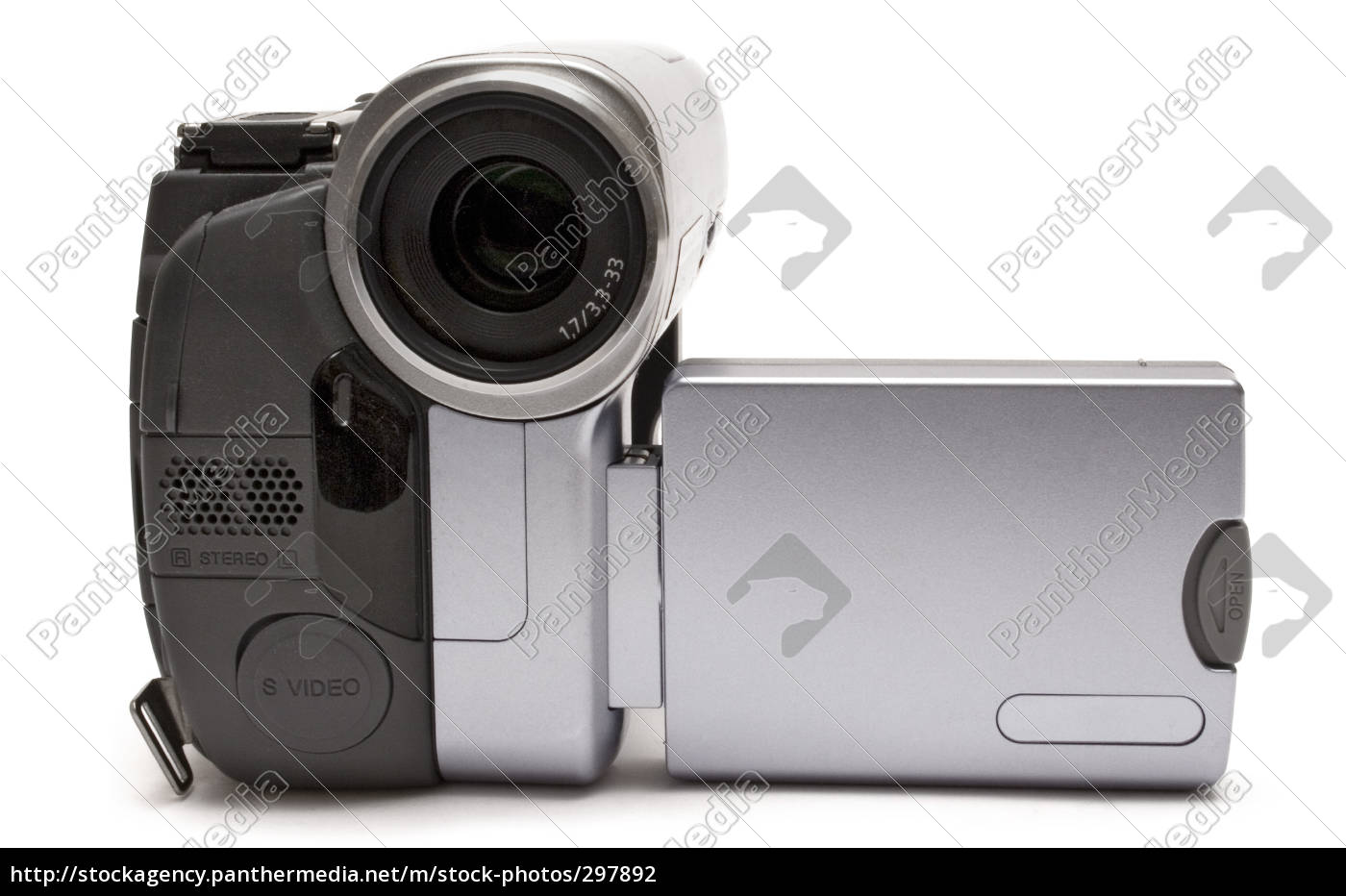 consumer, camcorder, frontal - 297892