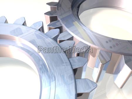 gears, polished - 326478