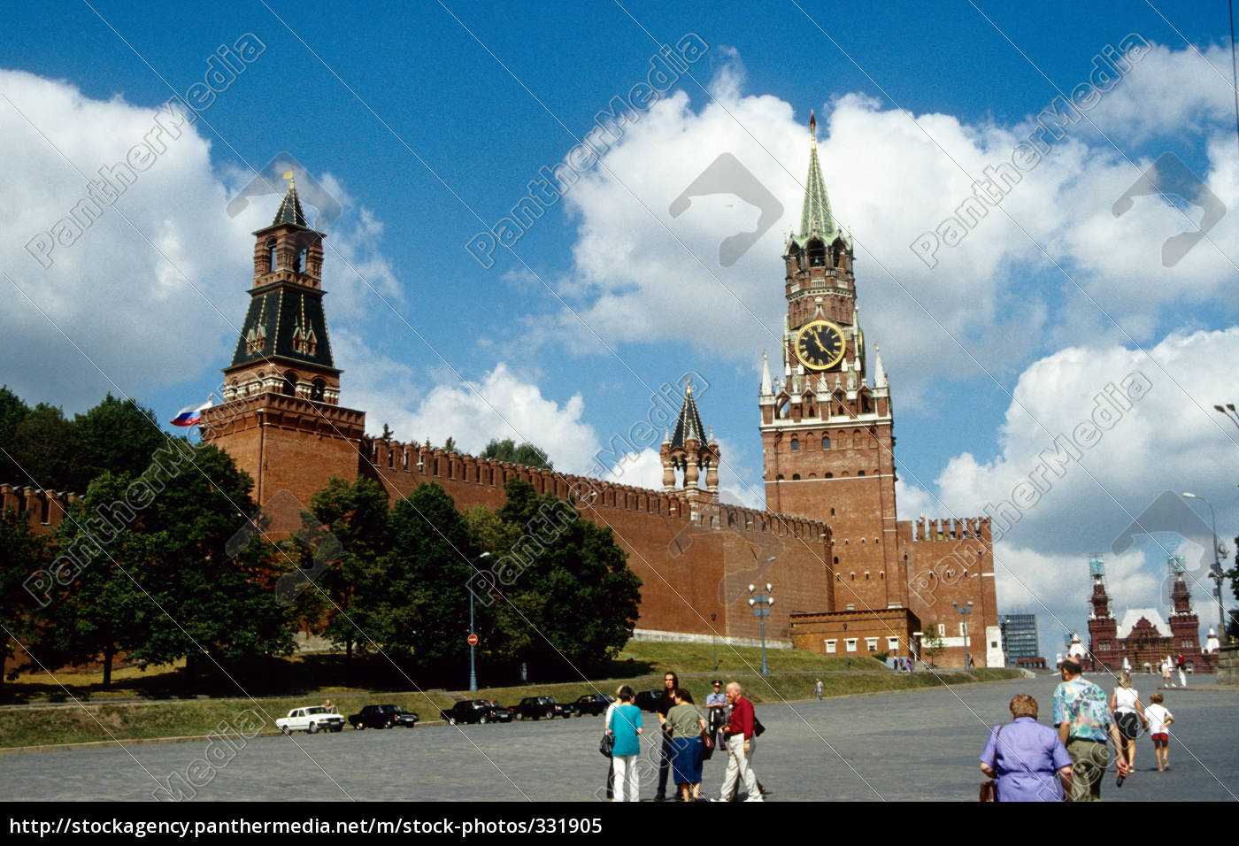 kremlin, red, square - 331905