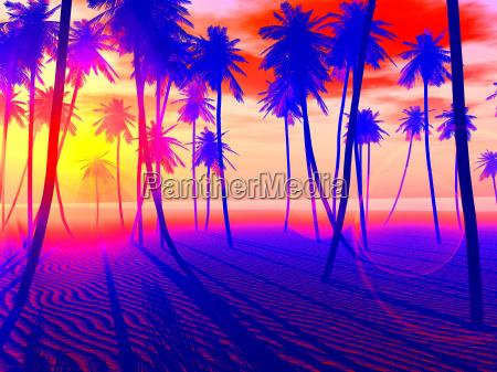 pop art beach