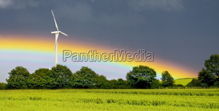pinwheel with rainbow