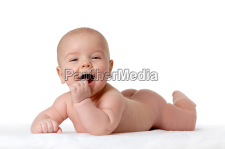 baby lying on stomach 2