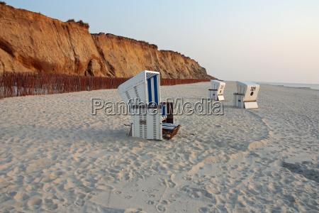 beach, baskets, on, sylt - 1907059