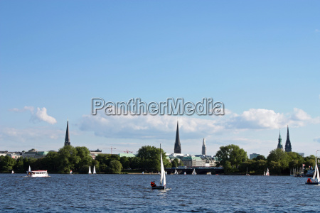 sailing, on, the, alster - 1981207