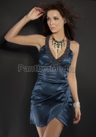 beautiful glamour model
