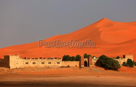 hotel dunes morocco sahara kasbah erg