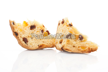 panettone pieces