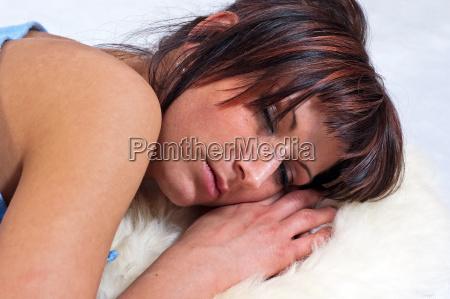 girl, sleeping - 6021561