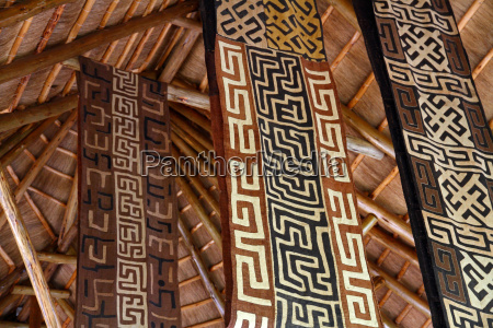 african themed fabric banners