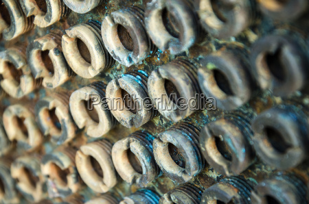 old rusty bolts