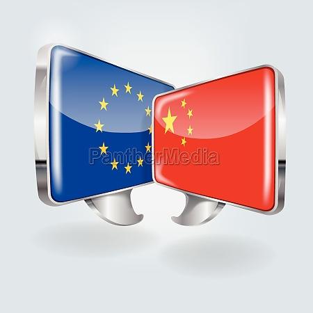 bolhas com europa e china