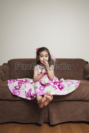 a 3 year old girl with