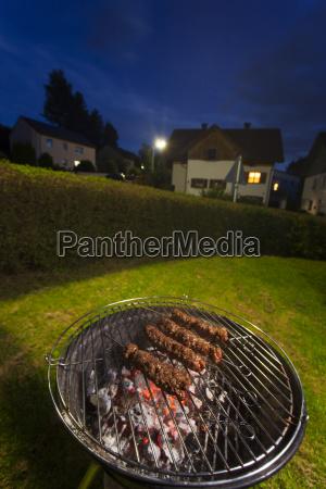 grill im garten