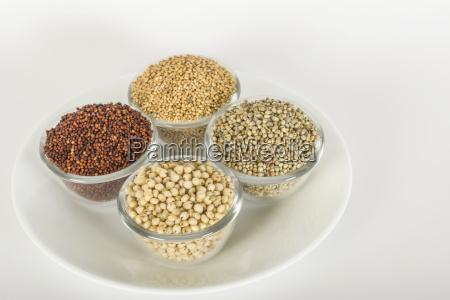 assorted millets