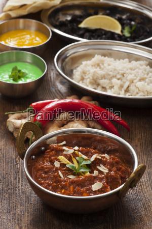indisches huehnchencurry
