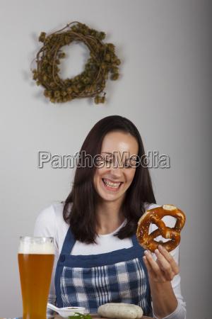 kobieta womane baba pszenica bawarski piwo