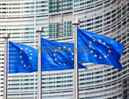 caucasiano europeu europa bandeira bruxelas uniao