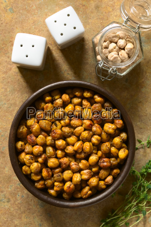 chickpeas roasted with herbs