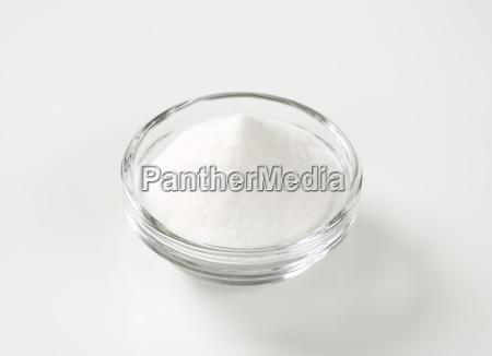 bowl of baking soda