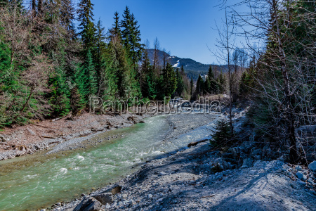 mountain, stream - 17081546