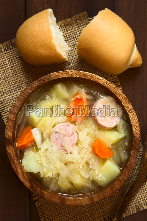 sauerkraut soup or stew