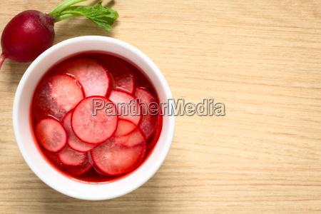 pickled, radishes - 19825531