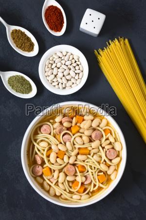 chilean porotos con riendas beans with