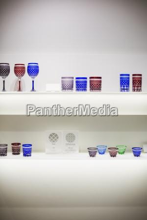 shop selling edo kiriko cut glass