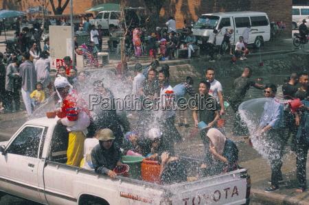 songkran thai new year water festival