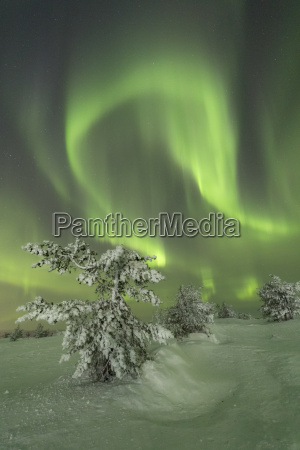 northern lights aurora borealis on the