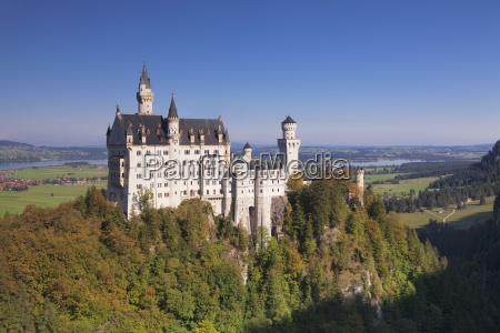 neuschwanstein castle fussen allgau allgau alps