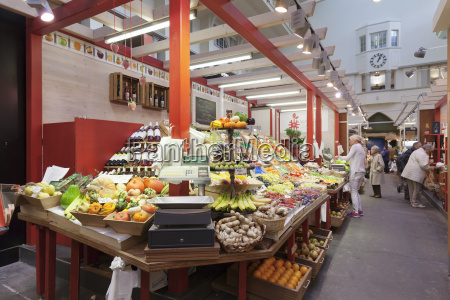 market hall stuttgart baden wurttemberg germany