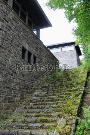 tower story gigantic eifel ordensburg bauwerk